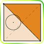 Разрезаем круг и квадрат